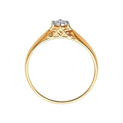 Кольцо из золота c бриллиантом_1 1011159 15333.30 ₽