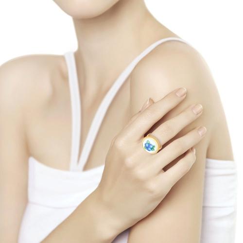 Золотое кольцо Ягоды (Финифть)_1 781009 16009.92 ₽