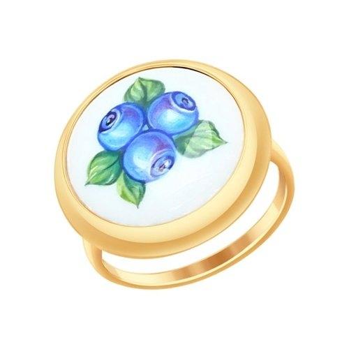 Золотое кольцо Ягоды (Финифть)_0 781009 16009.92 ₽