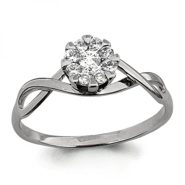 Помолвочное золотое кольцо с бриллиантом_0 T-25047 66243.87 ₽