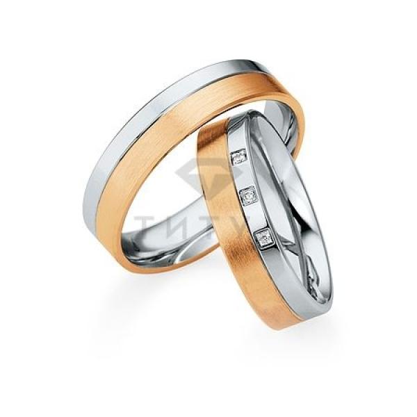 Золотые парные обручальные кольца (ширина 5 мм.) (цена за пару)_1 T-28073 63836.54 ₽