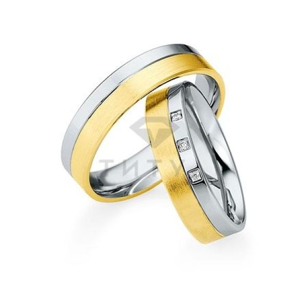 Золотые парные обручальные кольца (ширина 5 мм.) (цена за пару)_0 T-28073 63836.54 ₽