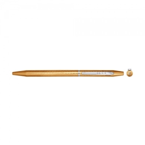 Сувенир пишущие принадлежности из комбинированного золота с  и фианитом