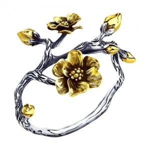 Кольцо серебряное для салфеток