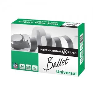 Оптом Бумага офисная BALLET UNIVERSAL, А4, 80 г/м2, 500 л., марка С, ColorLok, International Paper