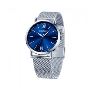 Женские стальные часы