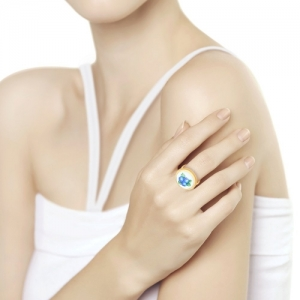 Золотое кольцо Ягоды (Финифть)