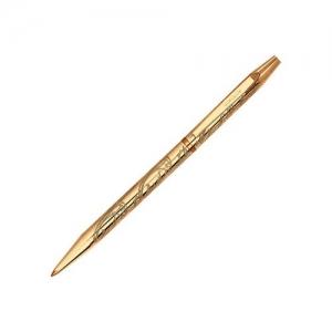 Ручка-сувенир из золоченого серебра с гравировкой