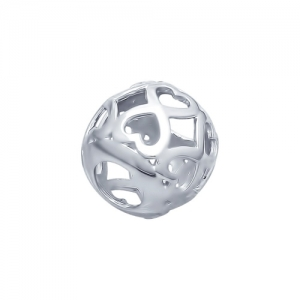 Подвеска Сердечко из серебра