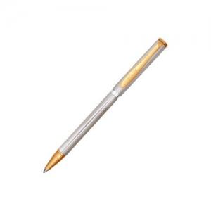 Ручка из серебра с алмазной гравировкой и позолотой