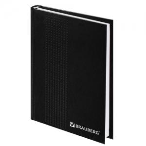 Ежедневник датированный на 4 года А5 (145х215 мм), 192 л., бумвинил, черный