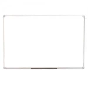 Доска магнитно-маркерная 60х90 см, ПВХ рамка, Гарантия 10 летсерый