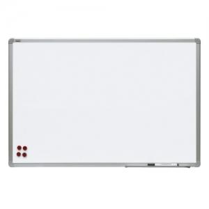 Доска магнитно-маркерная 90x120 см, керамическая, алюминиевая рамка, 2х3 office