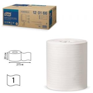 Полотенца бумажные с центральной вытяжкой Tork (Система M2), комплект 6 шт., Universal, 275 м, белые