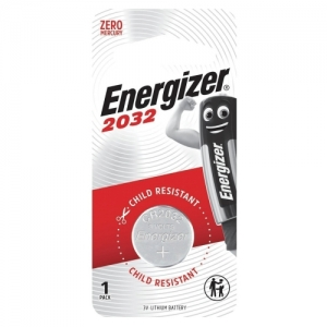 Батарейка Energizer, CR 2032, литиевая, 1 шт., в блистере