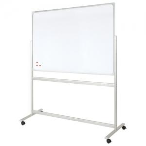 Доска магнитно-маркерная на стенде 90x120 см, 2-сторонняя, 2х3 office