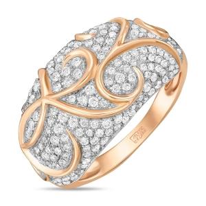 Золотое кольцо c бриллиантами