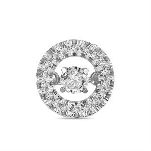 Подвеска из белого золота c бриллиантами